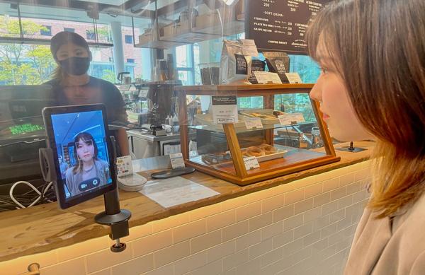 顔認証決済の様子(イメージ)